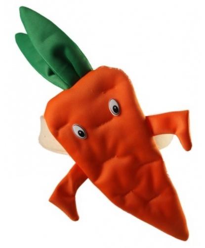 Шапка-повязка морковка (Польша)