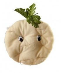 Шапка-повязка сельдерей