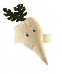 Шапка-повязка петрушка