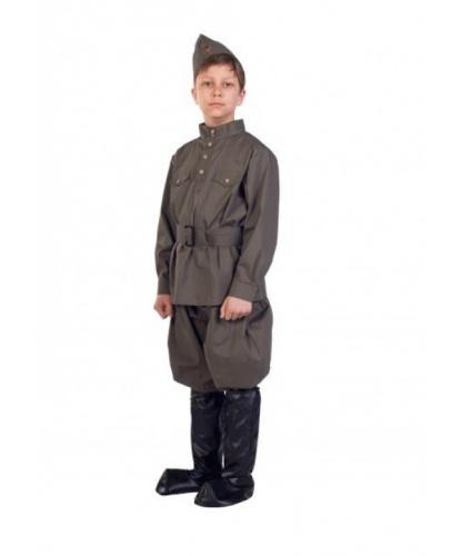 Костюм Гимнастерка с брюками: брюки, гимнастерка, пилотка, пояс (Россия)