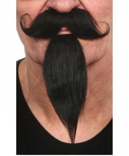 Усы и борода чёрные (Литва)