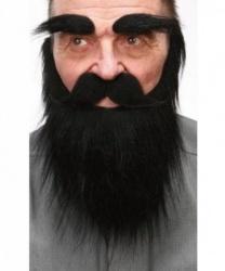 Борода, усы, брови разбойника