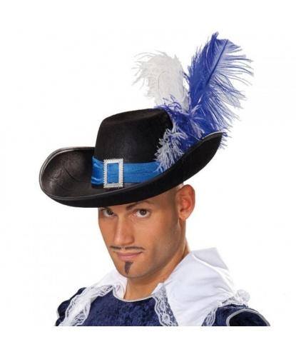 Шляпа мушкетера с синей лентой(Германия)