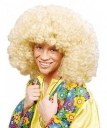 Парик Афро блонд