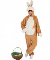 Взрослый костюм Заяц с морковкой : комбинезон (Германия)