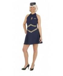 Костюм-платье стюардессы