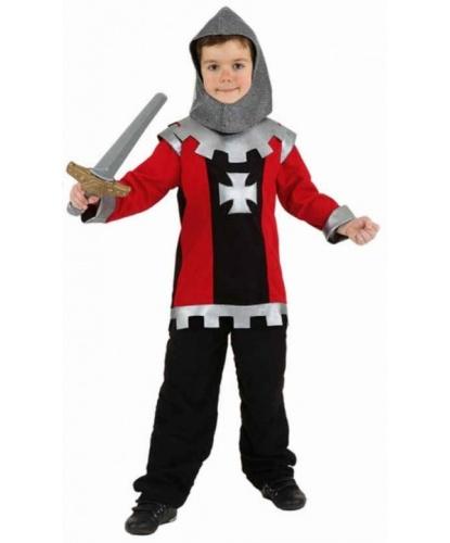 Детский костюм рыцаря: головной убор, кофта (Германия)