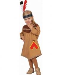 Платье для вашей маленькой индианки