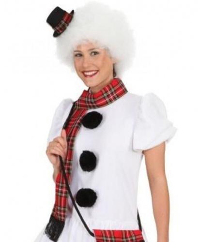 Шляпа и шарф снеговика