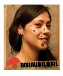 Бородавки из латекса - Шрамы, раны, арт: 5886