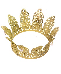 Корона золотая (6,5 см. диаметр) - Короны, арт: 467