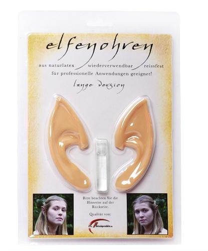 Уши эльфа из латекса (8 см) (Германия)