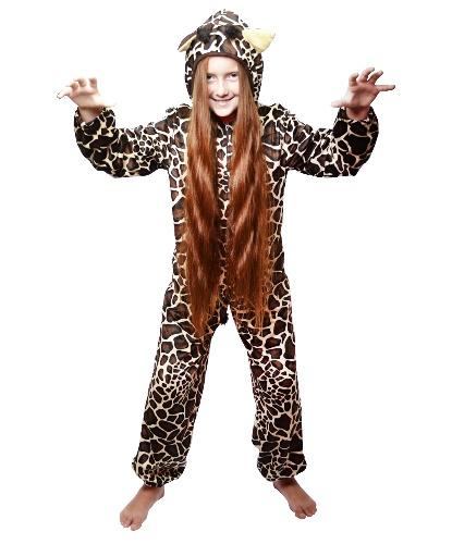 Костюм жирафа : комбинезон с капюшоном (Германия)