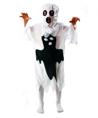 Детский костюм веселого привидения: маска, накидка (Польша)