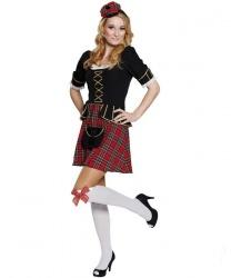 Платье шотландское