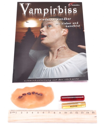 Рана Укус вампира, латекс (Германия)