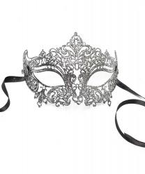 Венецианская серебряная маска Giglietto