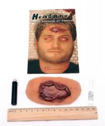 Рана  Выстрел в голову  - Шрамы, раны, арт: 5937