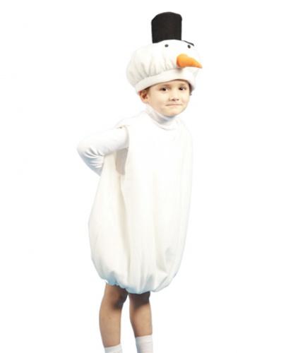 Костюм снеговика: головной убор, жилетка (Россия)