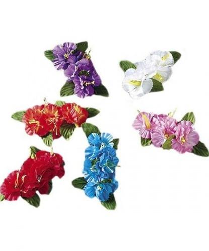 Гавайский цветок на заколке