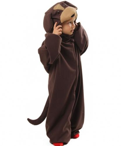 Детский костюм собаки: капюшон, комбинезон (Польша)