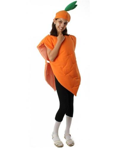 Костюм морковки: шапка, жилет (Польша)