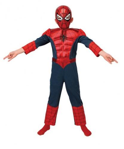 Костюм Человека-Паука: комбинезон, маска (Германия)