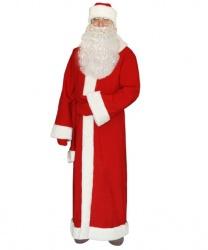 Дед мороз: шапка, кушак, шуба, рукавицы (Россия)