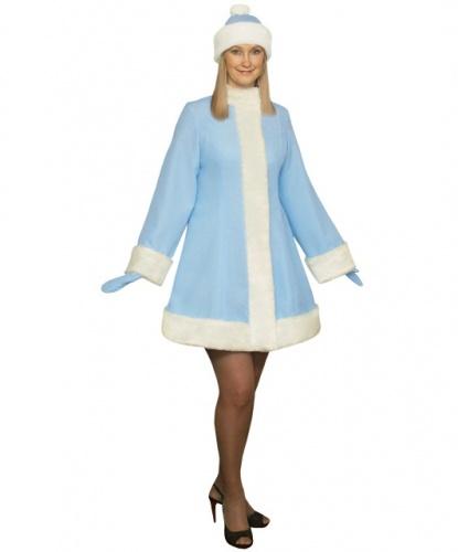 Шуба снегурочки: шуба, шапка, рукавицы (Россия)