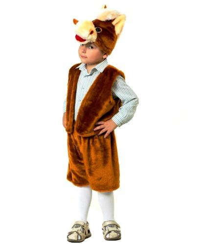 Костюм коня: шапка, жилетка, шорты (Россия)