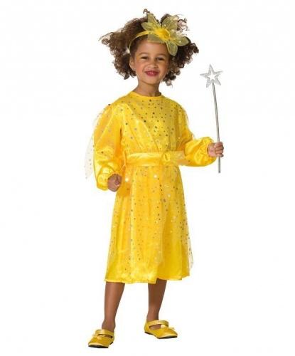 Костюм Солнечный лучик: платье, ободок (Германия)