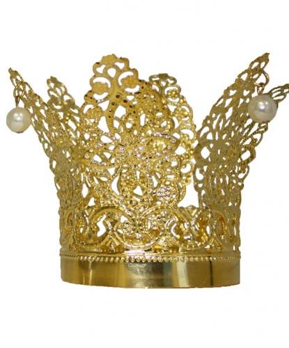 Корона золотая, металл (Германия)