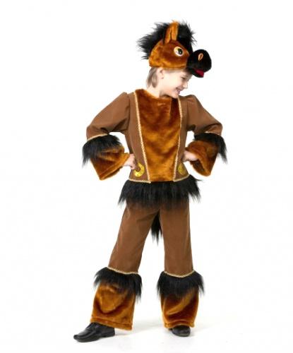 Детский костюм коня: брюки, кофта, шапка (Россия)