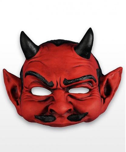 Полумаска дьявола, латекс (Германия)