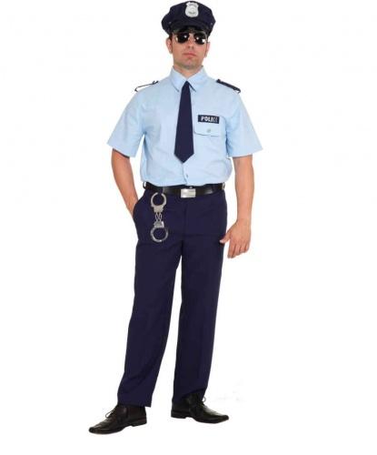 Рубашка и брюки полицейского: брюки, рубашка, галстук (Германия)