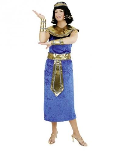 Взрослый костюм Египтянка: платье, нарукавники, воротник, пояс (Германия)