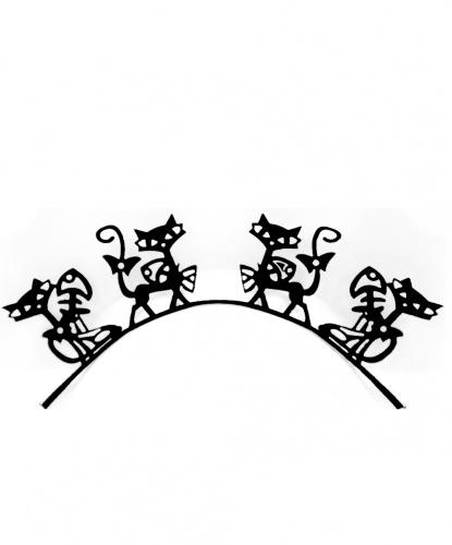 Накладные ресницы Кошка
