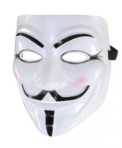 Guy Fawkes Mask, пластик (Германия)