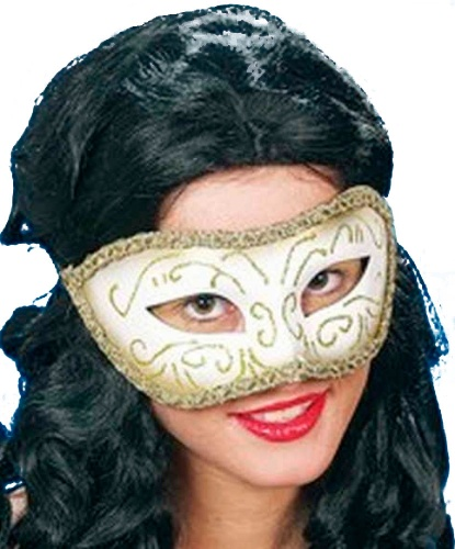 Венецианская золотая маска, пластик (Германия)