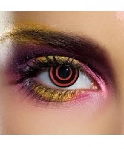 Линзы Бычий глаз, без диоптрий, срок ношения 90 дней (Англия)