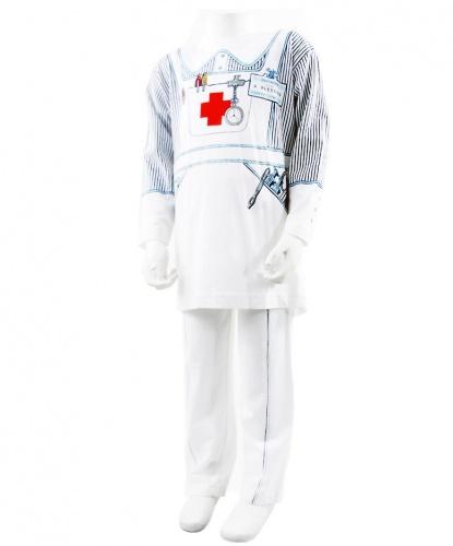 Детский костюм медсестры: футболка, штаны (Англия)