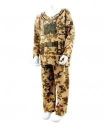 Детский костюм военного
