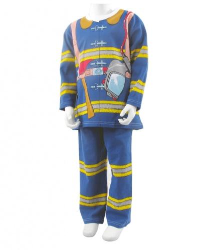 Детский костюм-пижама Пожарный: футболка, штаны (Англия)