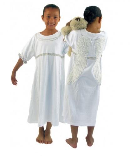 Детский костюм Белого Ангела: длинная футболка (Англия)