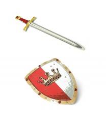 Набор рыцаря  Король Ротштейн  - Оружие, арт: 6223