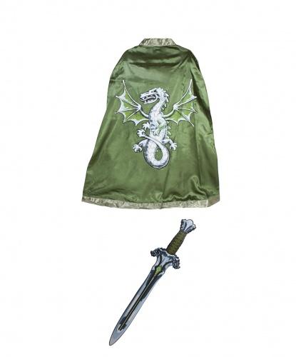 Набор рыцаря Дракон: плащ, меч 54 см (Дания)