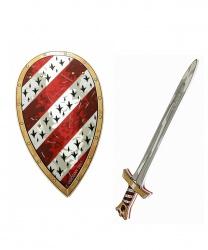 Набор из щита и меча  Король Артур  - Другое, арт: 6238