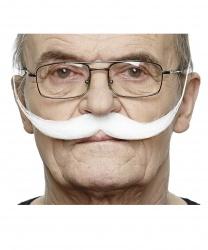 Белые английские усы