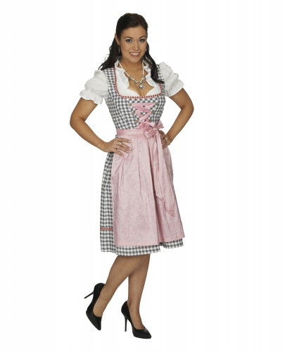 Национальный баварский костюм: платье (Германия)