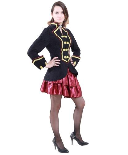 Костюм пиратки (камзол и юбка): камзол, юбка (Германия)